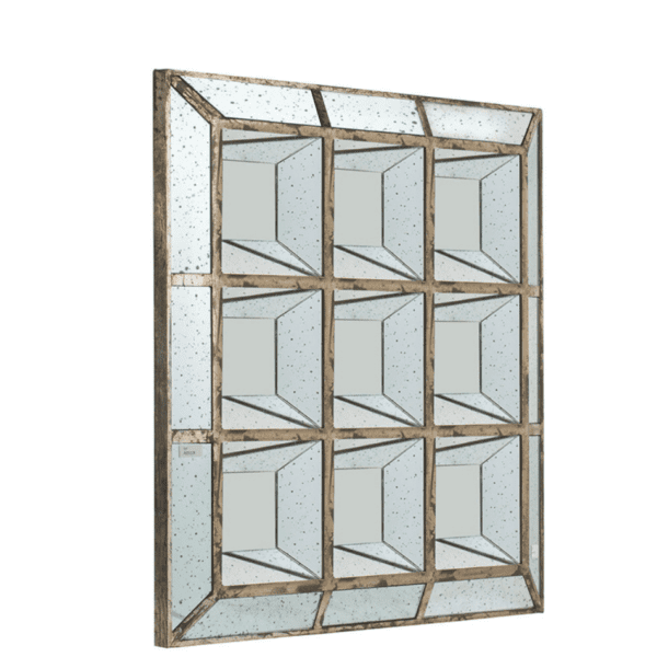 Side View of Aged Mirror